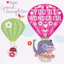 Cherry On Top Granddaughter Birthday Card