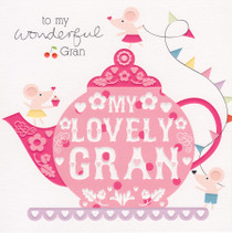 Cherry On Top Gran Birthday Card