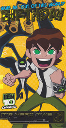 Ben 10 Birthday Card