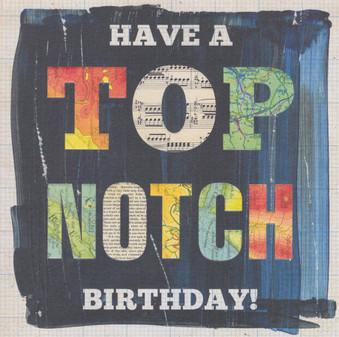 Top Notch Birthday Card - Lucy Joy