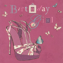 Birthday Shoes Card - Lola