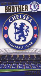 Chelsea Football Club Brother Birthday Card