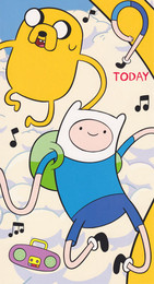 Adventure Time - 9th Birthday Card