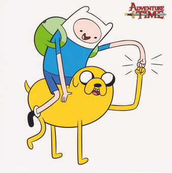 Adventure Time - Square Greeting Card