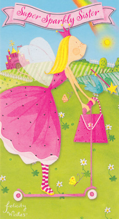 Felicity Wishes - Sister Birthday Card