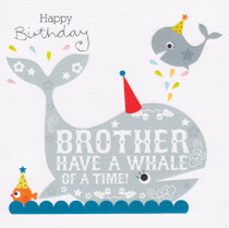 Brother's Birthday Card - Cherry On Top