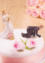 Congratulations Bride And Groom Card