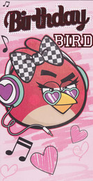 Angry Birds - Girl's Birthday Card