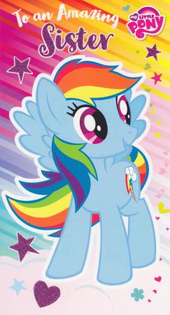 My Little Pony - Sister's Birthday Card