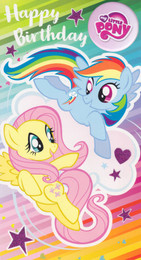 My Little Pony - Birthday Card