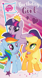 My Little Pony - Girl's Birthday Card