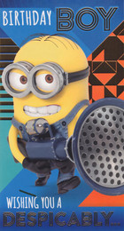 Despicable Me 3 - Birthday Boy Card