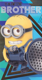 Despicable Me 3 - Brother's Birthday Card