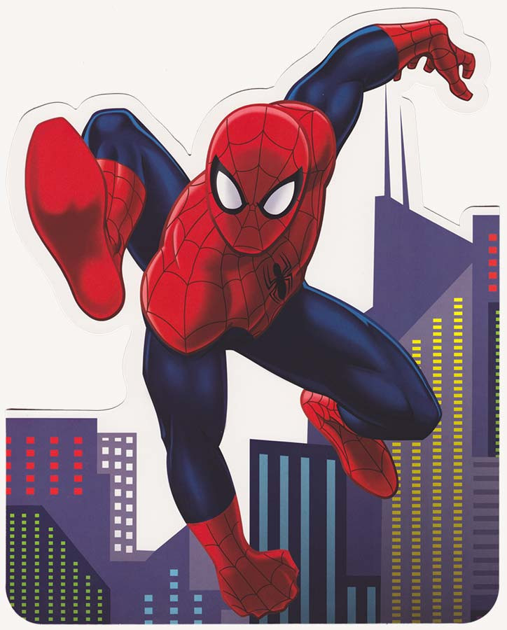 Spiderman Stand Up Greeting Card Cardspark