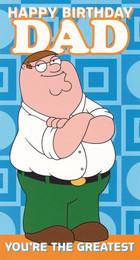 Family Guy Dad Birthday Card