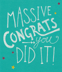 Congratulations Card - Camden Graphics
