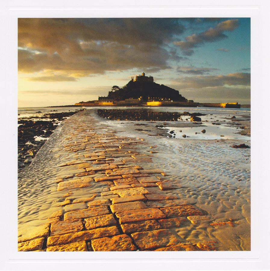 St Michaels Mount Greeting Card Take A View Cardspark