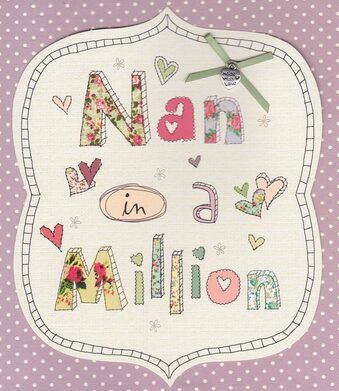 Carlton Cards - Nan Birthday Card