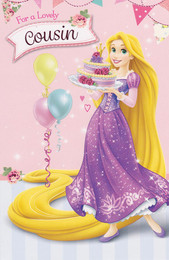 Tangled - Cousin's Birthday Card