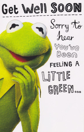 Get well soon Greeting Card - The Muppets