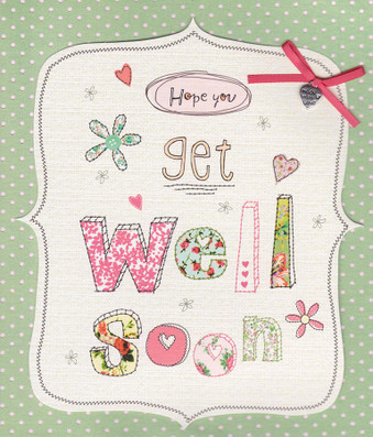 Get Well Soon Card - Carlton Cards