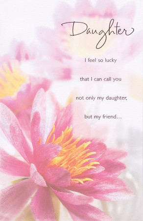 Daughter Birthday Card - Gibson