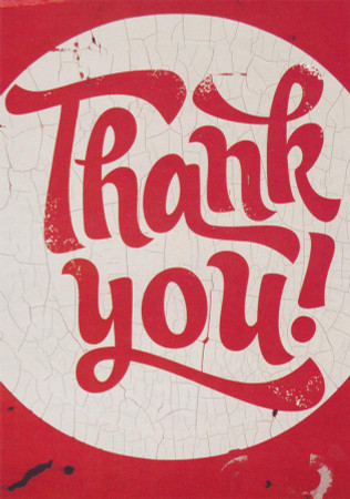 Thank You Greeting Card - BBCandy