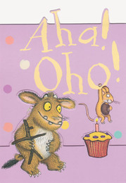 The Gruffalo's Child - Birthday Card - Pop-Out