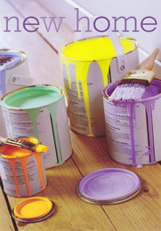 New Home Card - Paint Pots