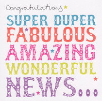 Congratulations Card - Super Duper