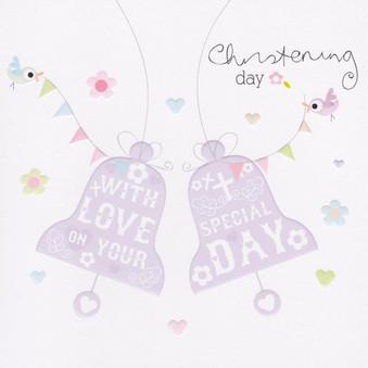 Christening Day Card
