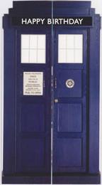 Doctor Who - Tardis General Birthday Card