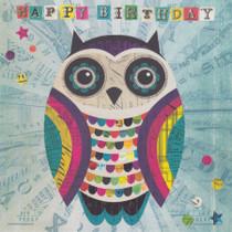 Owl Birthday Card - Lucy Joy