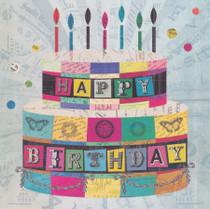 Birthday Cake Card - Lucy Joy