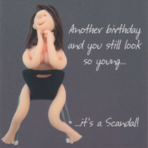 Birthday Scandal Card - One Lump