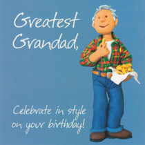 Grandad Birthday Card - One Lump Or Two