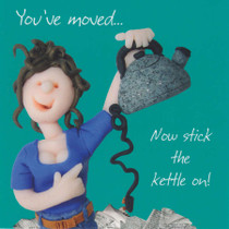 You've Moved Card - One Lump