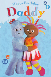 In The Night Garden - Daddy Birthday Card