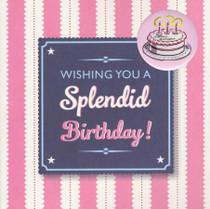 Splendid Birthday Card