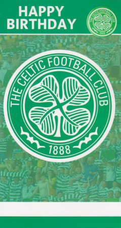 Celtic Football Club - Crest Birthday Card