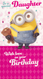 Minions Movie - Daughter's Birthday Card