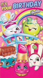 Shopkins Your Birthday Card
