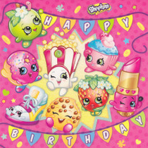 Shopkins - Birthday Card