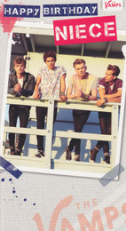 The Vamps Niece's Birthday Card