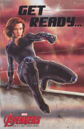 The Avengers - Black Widow Birthday card