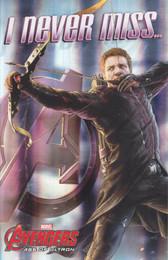 The Avengers - Arrow Birthday card