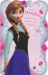 Frozen - Daughter's Birthday Card