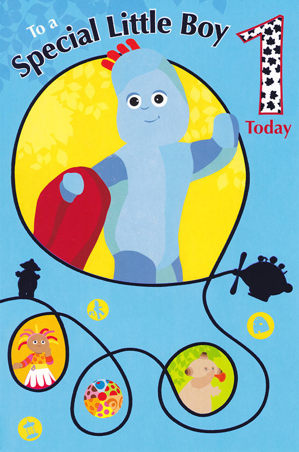 In The Night Garden Age 1 Special Boy Birthday Card Cardspark