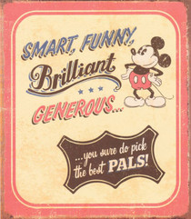 Mickey Mouse - Best Pals Greeting Card