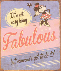 Minnie Mouse - Fabulous Greeting Card